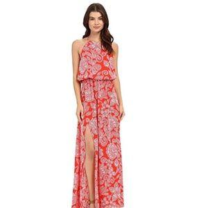 Show Me Your Mumu Heather Halter Dress Size S